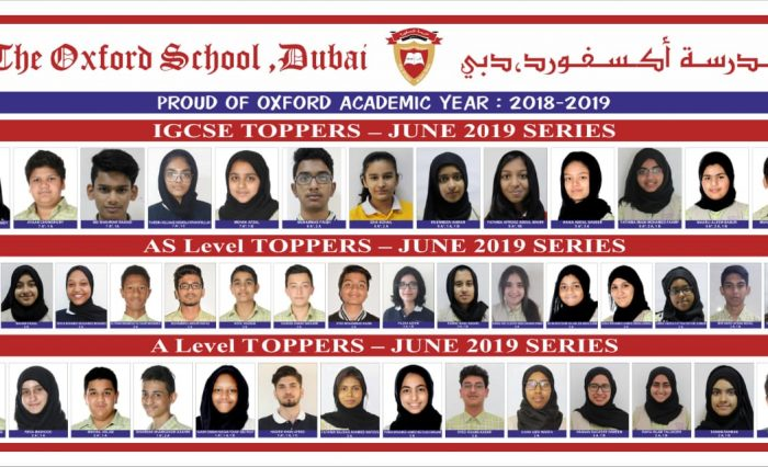 TOPPERS 2018-19